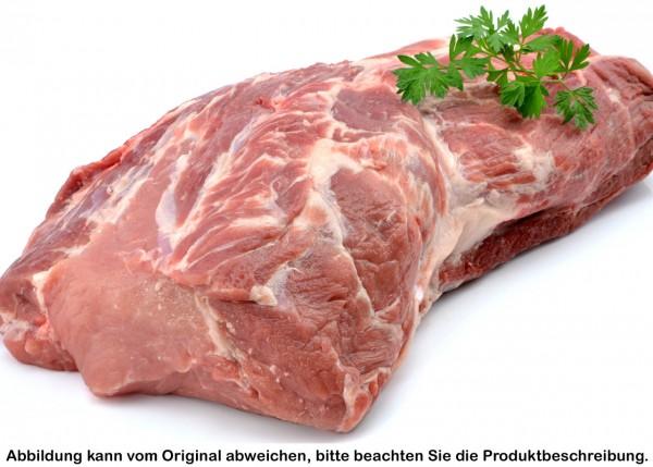 Kammbraten vom Strohschwein, vakuumiert
