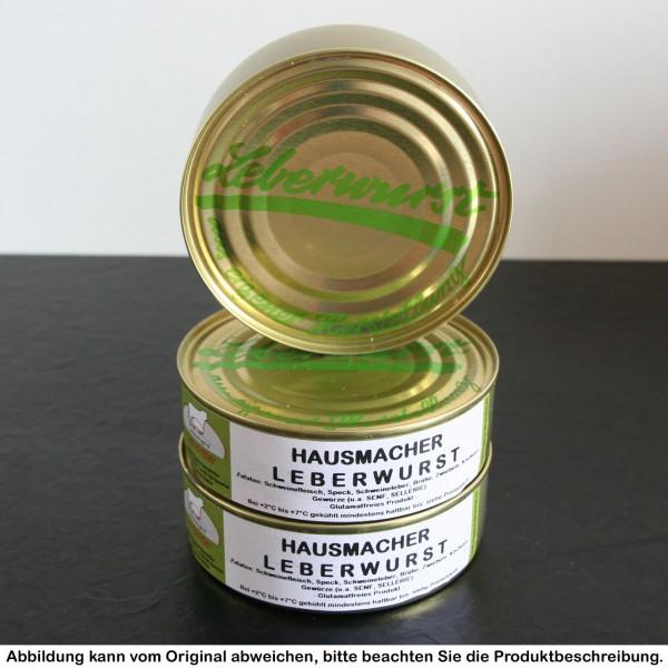 Hausmacher Leberwurst in der Dose