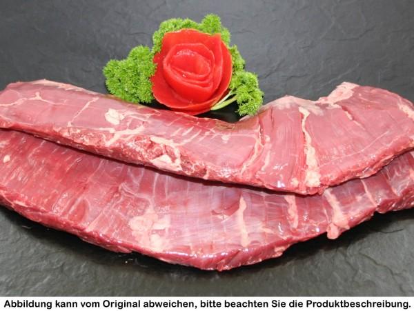 Skirt Steak vom Deutsch Angus Rind, ca.500g vakuumiert, frisch/ tiefgekühlt (je nach Verfügbarkeit)