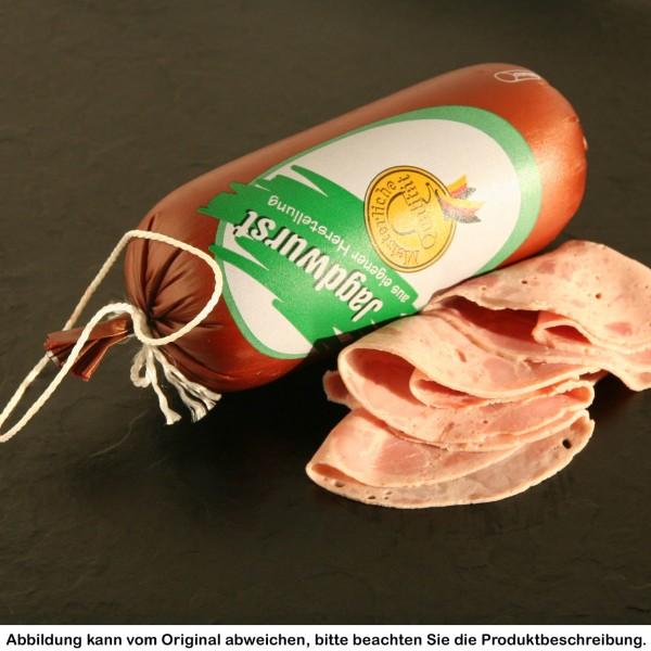 Jagdwurst im Portionsdarm