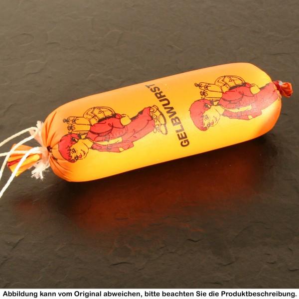 Gelbwurst im Portionsdarm