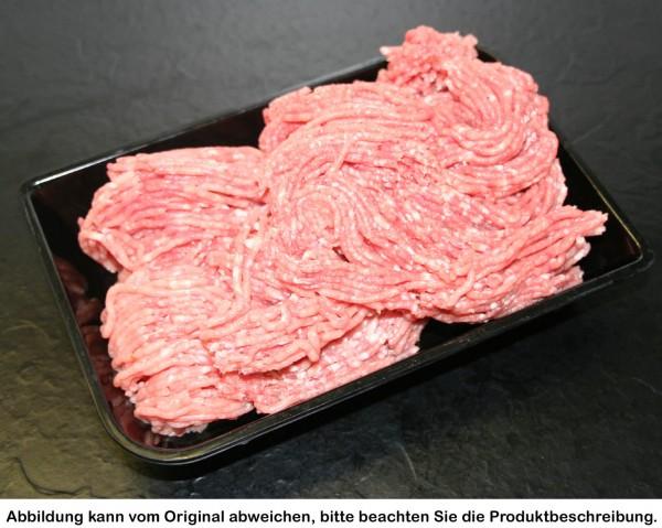 Hackfleisch vom Strohschwein